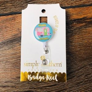 NWT Simply Southern Badge Reel